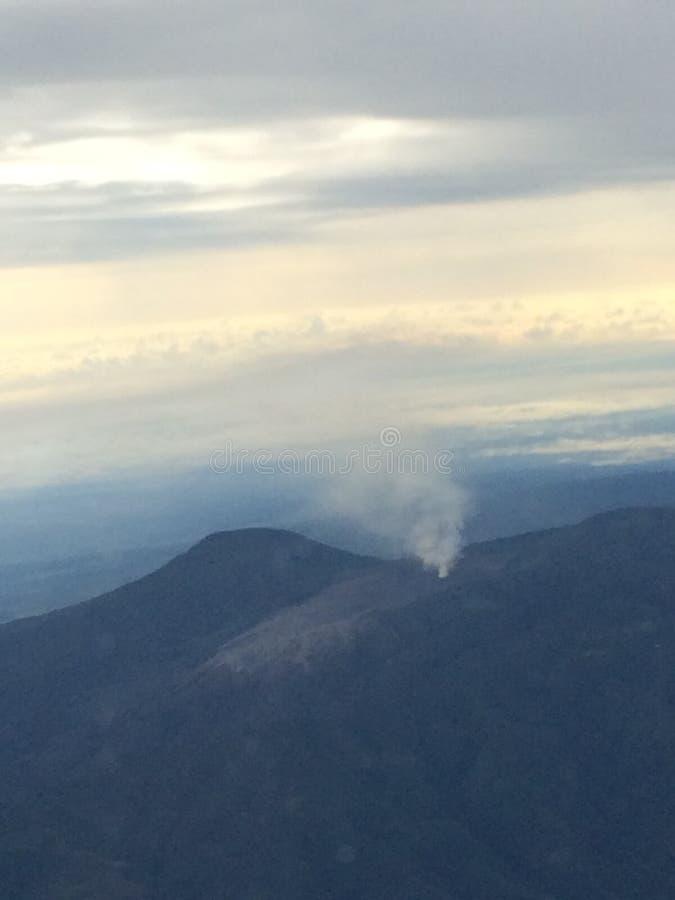 Volcano Irazu Costa Rica lizenzfreies stockbild