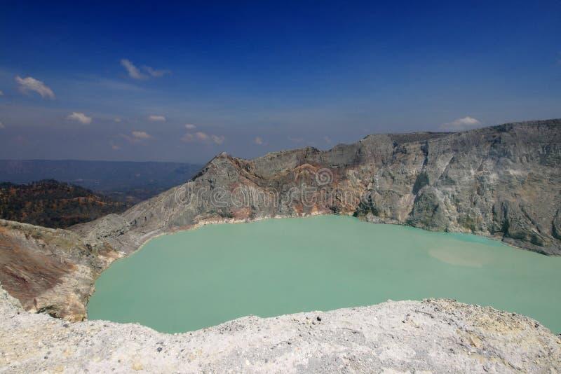 Volcano Kawah Ijen stock photos