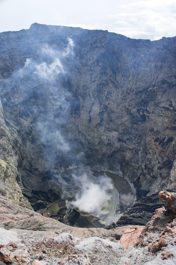 Volcano Kerinci. Sumatra, Indonesia royalty free stock images