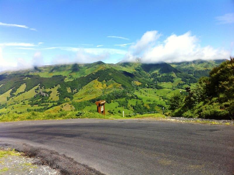 Volcano landscape stock images