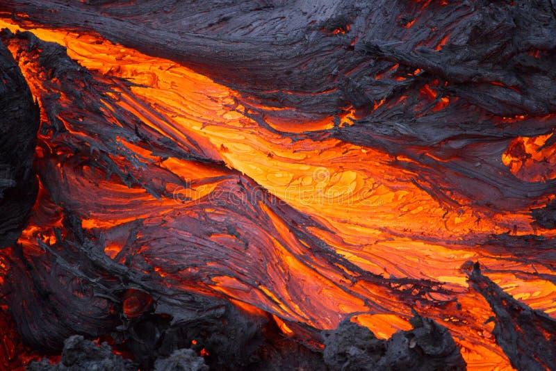 Volcano Lava stock afbeelding