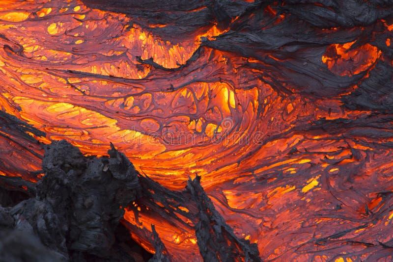 Volcano Lava royalty-vrije stock fotografie