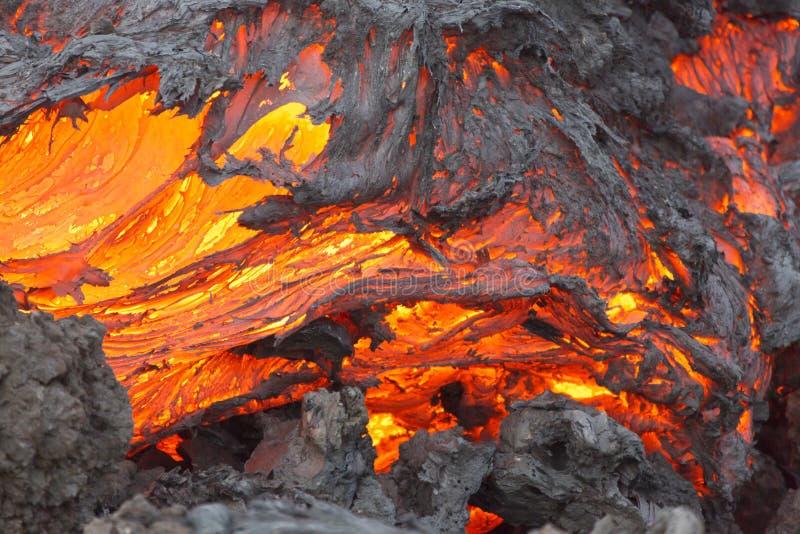Volcano Lava royaltyfri fotografi