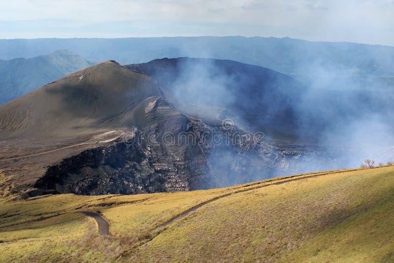 Volcano Masaya NP, Nicaragua photo libre de droits