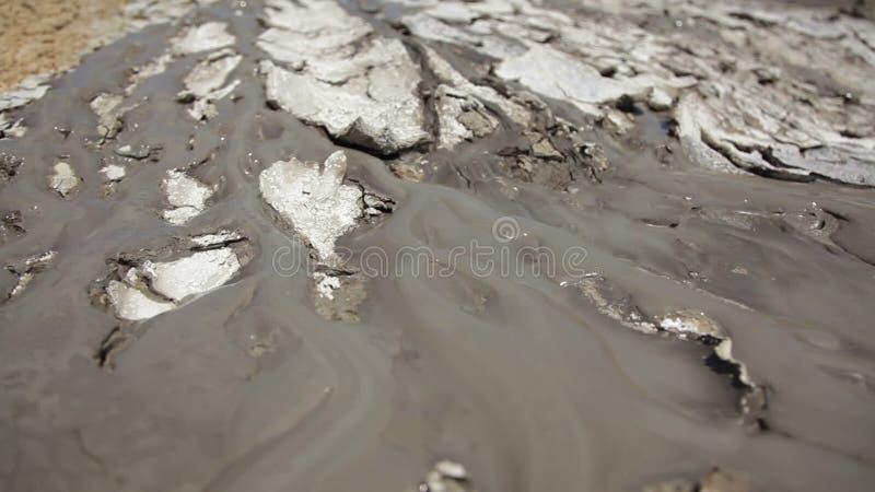 Volcano Mud Stream arkivfilmer