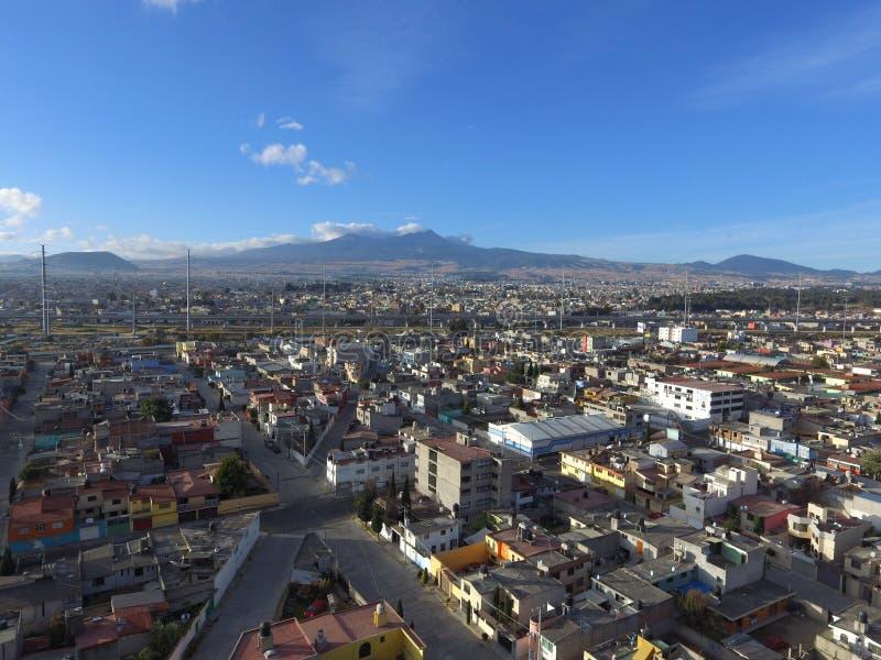 Volcano Nevado de Toluca lizenzfreie stockbilder