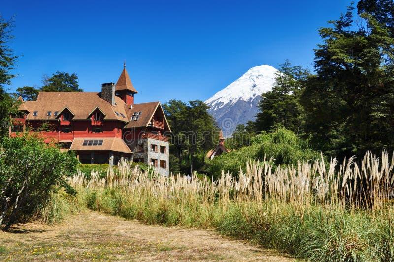Volcano Osorno Chile arkivfoto