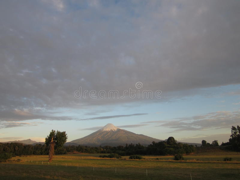 Volcano Osorno royalty free stock images