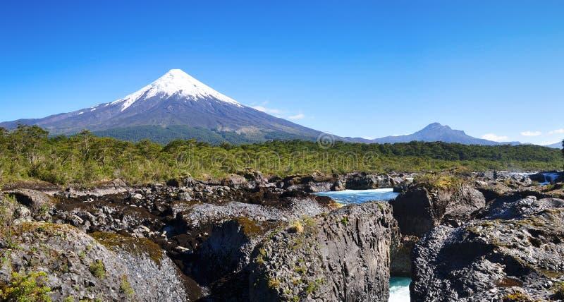Volcano Osorno, Chili photos stock
