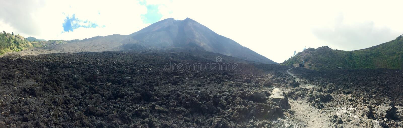 Volcano Panorama fotos de stock royalty free