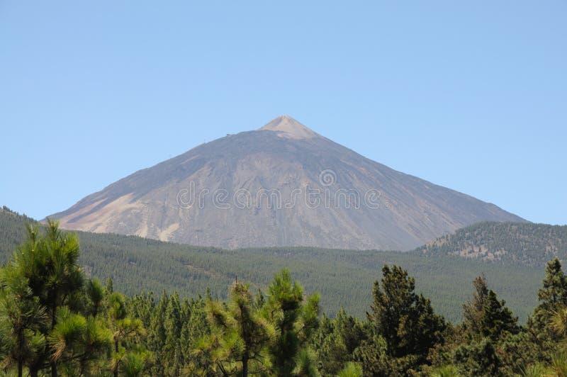 Volcano Pico de Teide, Tenerife Spanien lizenzfreies stockbild