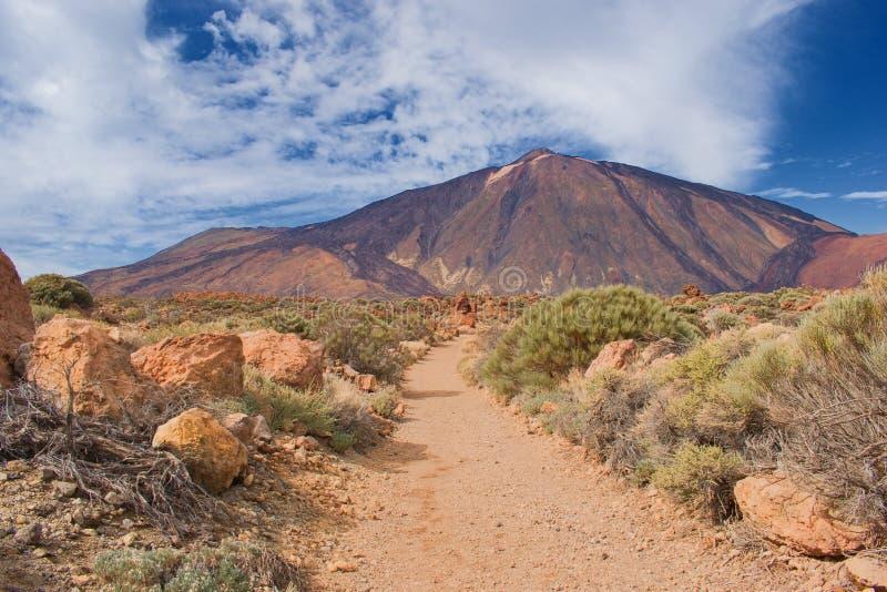 Volcano Pico del Teide, Tenerife Κανάρια νησιά, Ισπανία στοκ εικόνα με δικαίωμα ελεύθερης χρήσης