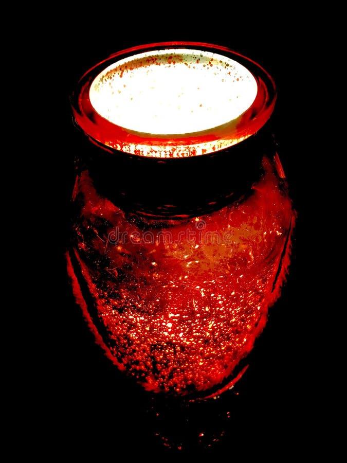 Volcano Red imagem de stock royalty free
