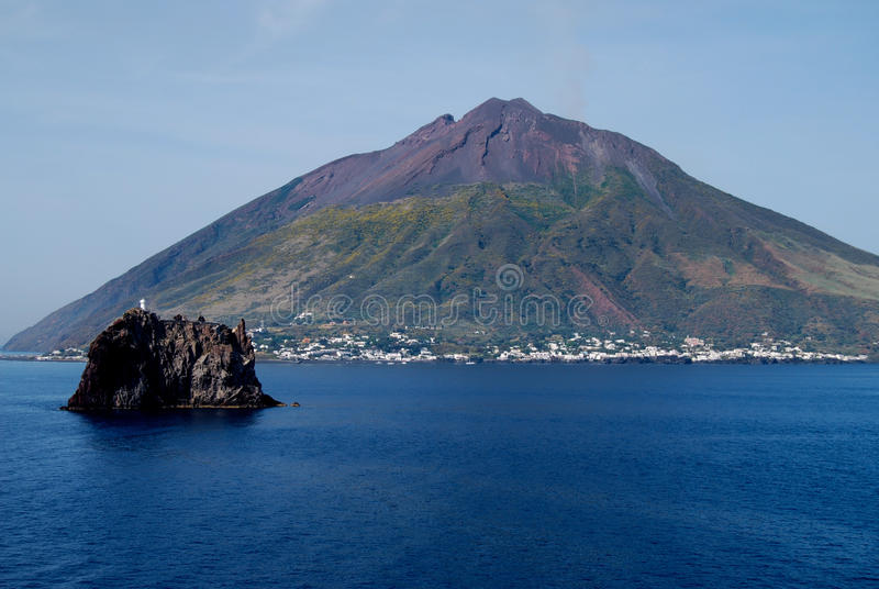 Volcano Stromboli, Italien 4 lizenzfreie stockfotografie
