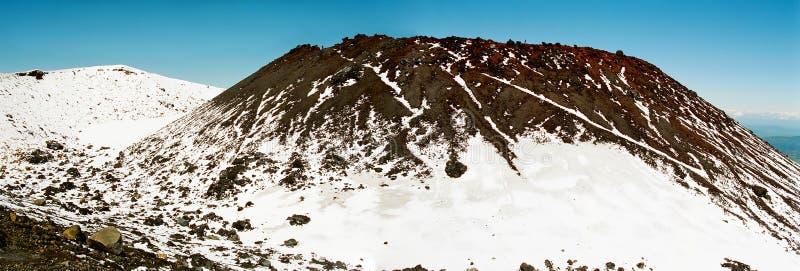 Volcano summit stock image