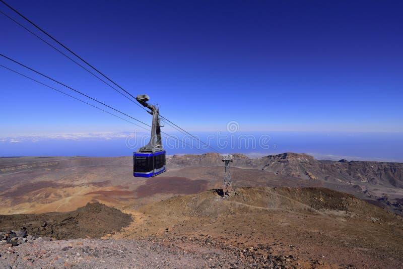 Volcano Teide, Teneriffa 3718 Meter Natürliches Erbe von UNESC stockfoto