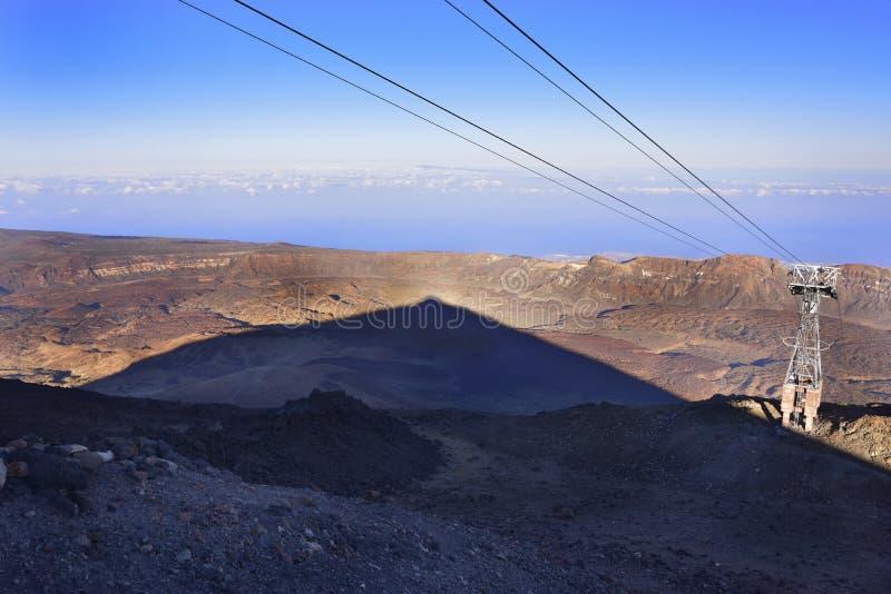 Volcano Teide, Teneriffa 3718 Meter Natürliches Erbe von UNESC stockbild