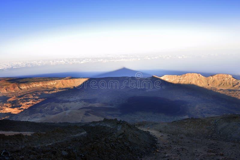 Volcano Teide u. x28; Tenerife& x29; 3718 Meter Natürliches Erbe von UNESC stockbilder