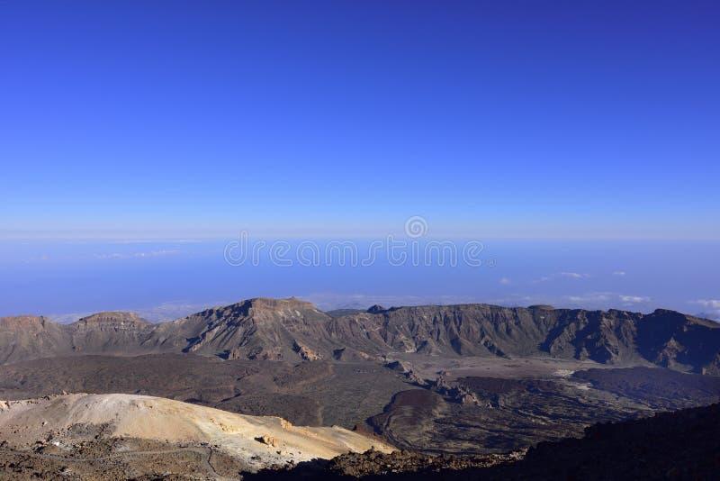 Volcano Teide u. x28; Tenerife& x29; 3718 Meter Natürliches Erbe von UNESC stockfotos