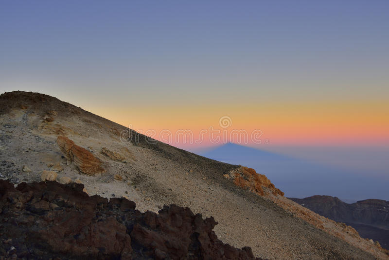Volcano Teide u. x28; Tenerife& x29; 3718 Meter Natürliches Erbe von UNESC lizenzfreie stockfotografie