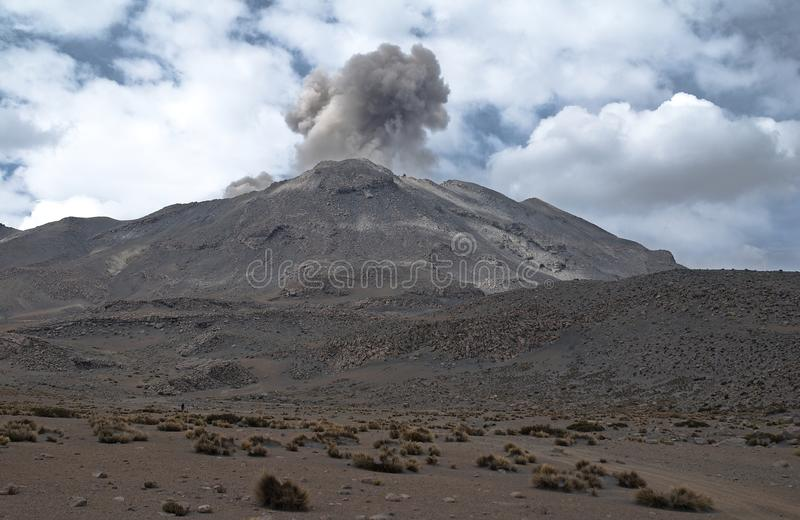 Download Volcano Ubinas stock photo. Image of geology, small, alpine - 27490988