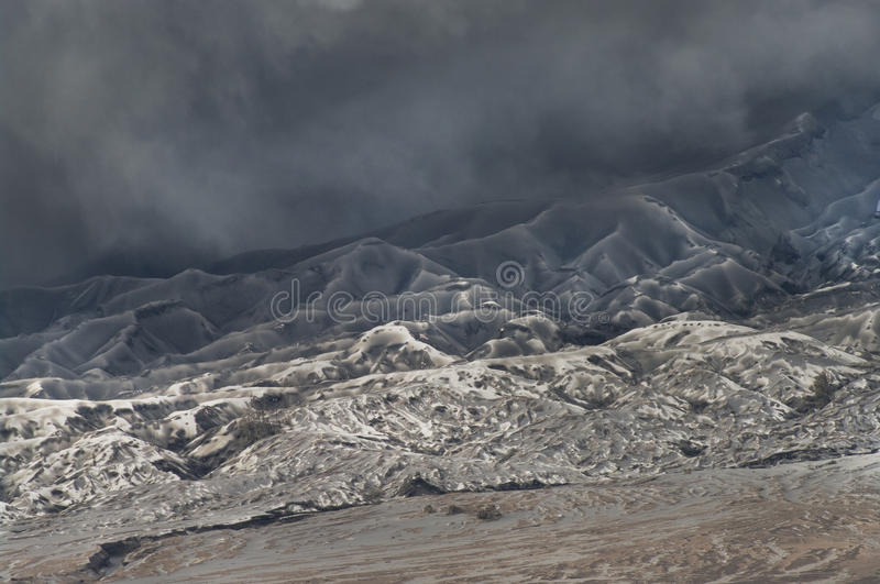 Volcanoes of Bromo National Park, Indonesia stock photos