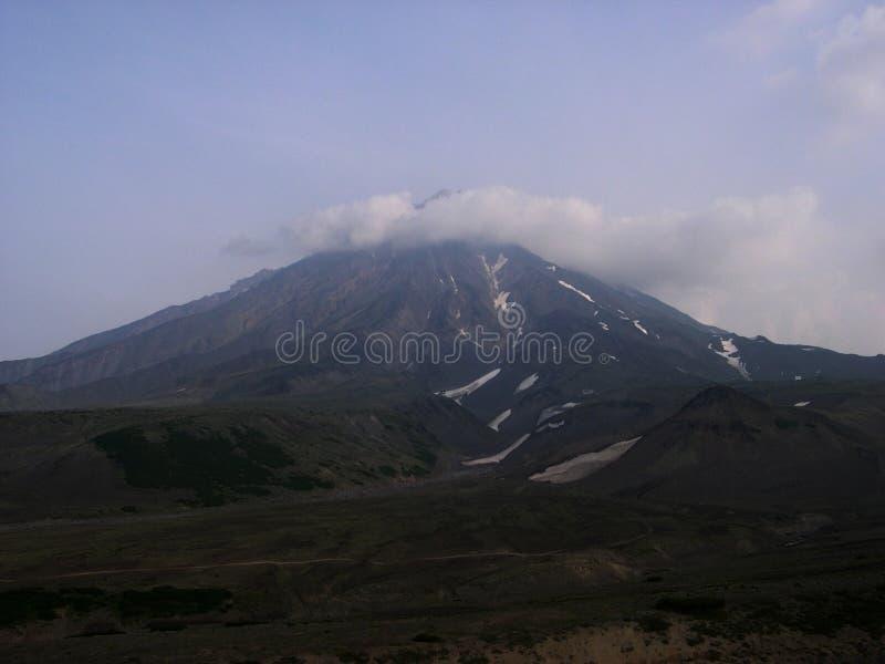Volcanoes Kamchatka Lato, august, półwysep kamczatka, Rosja zdjęcie royalty free
