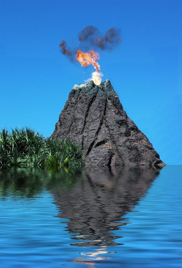 volcanosink obraz stock