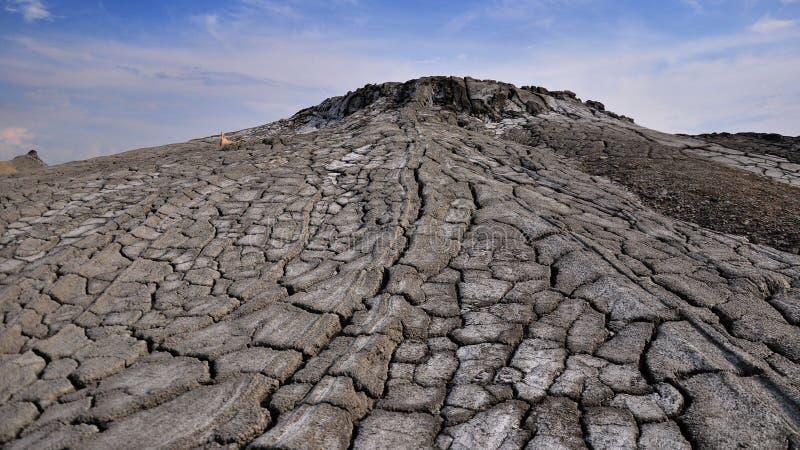 Volcans de boue de Paclele Mici images stock
