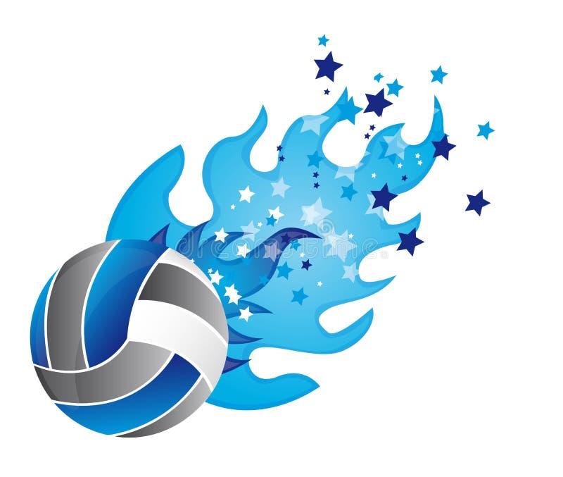 Voleibol ilustração stock