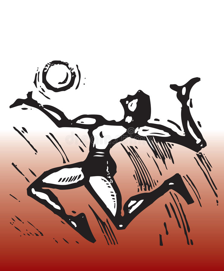 Voleibol libre illustration