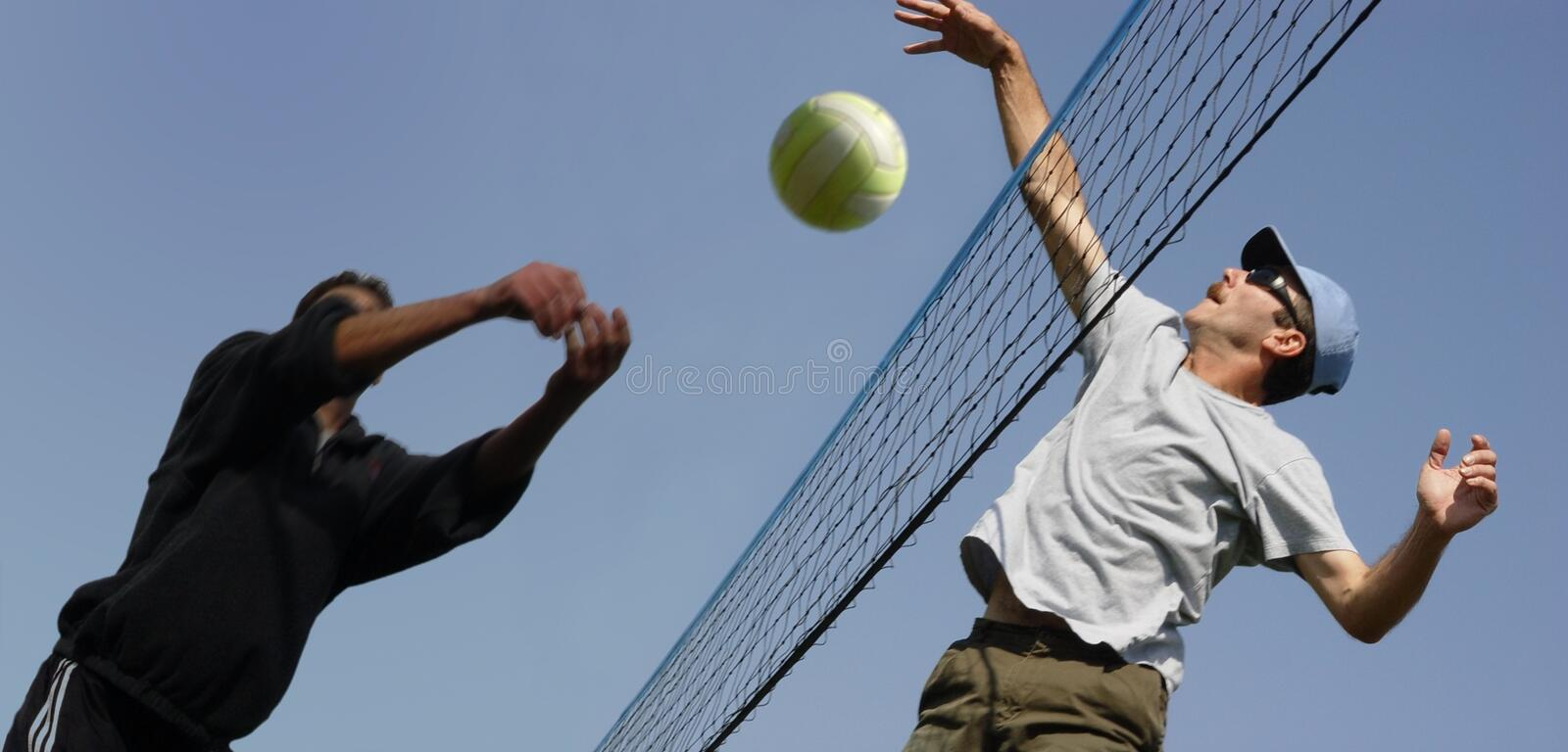 Download Voleibol foto de stock. Imagem de divertimento, outdoor - 62038