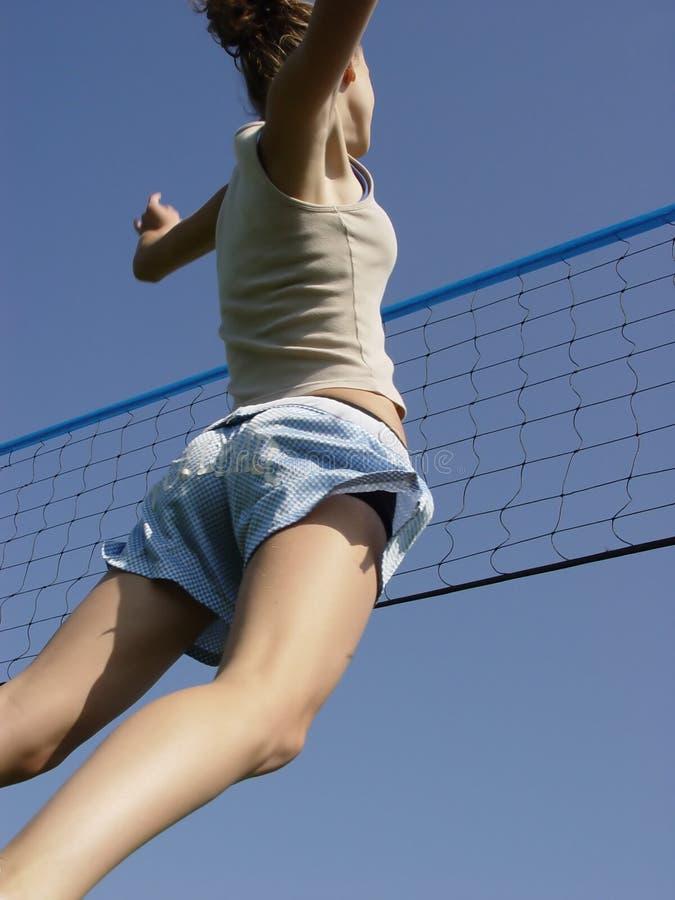 Voleibol da praia imagem de stock