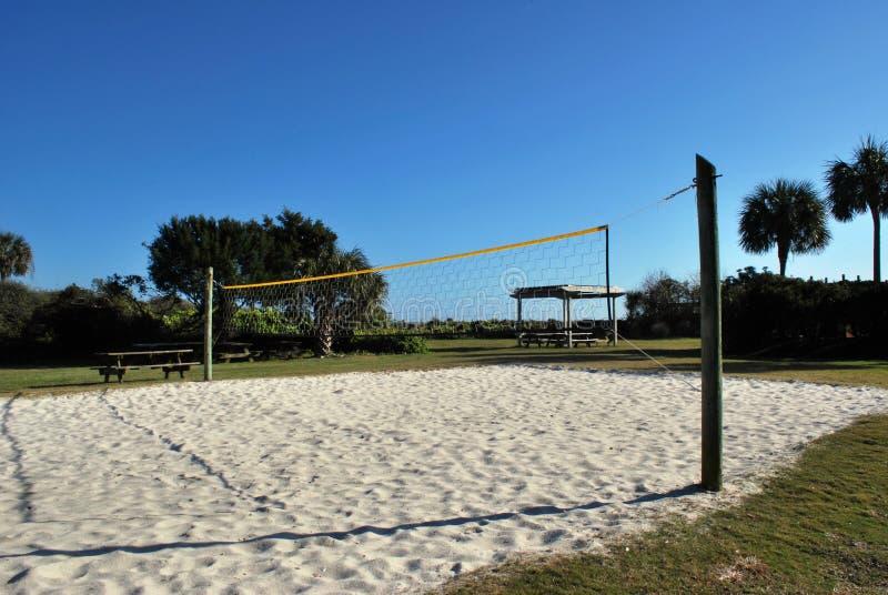 Voleibol de la arena imagenes de archivo