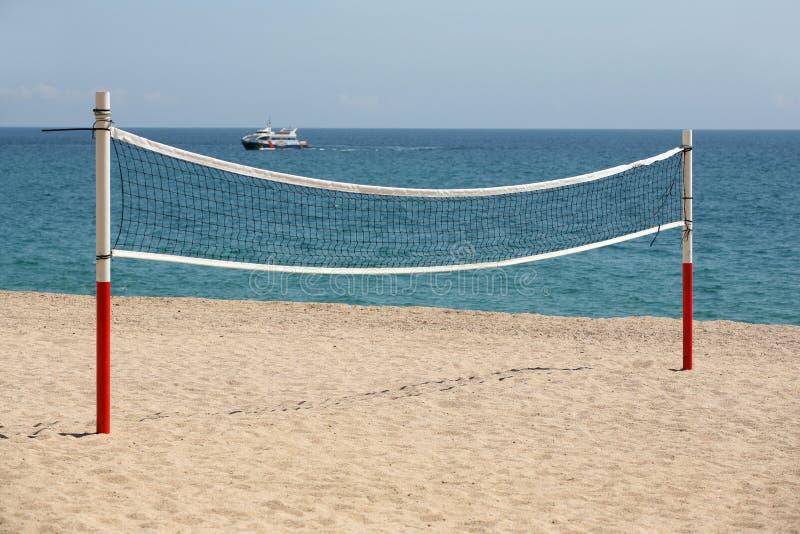 Voleibol de la playa fotografía de archivo libre de regalías