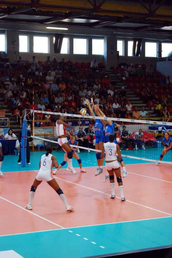 Voleibol: Mundo Prix grande imagens de stock royalty free