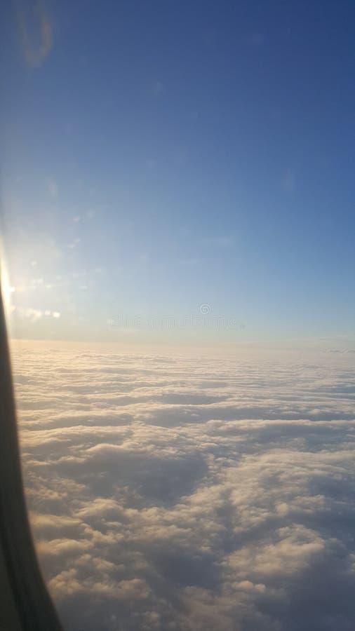 Voler haut photo libre de droits