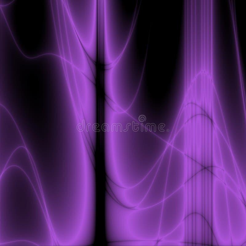 Volet glow royalty free illustration