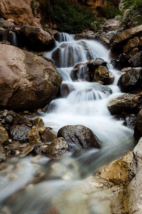 Volet lent de cascade de cascade images libres de droits