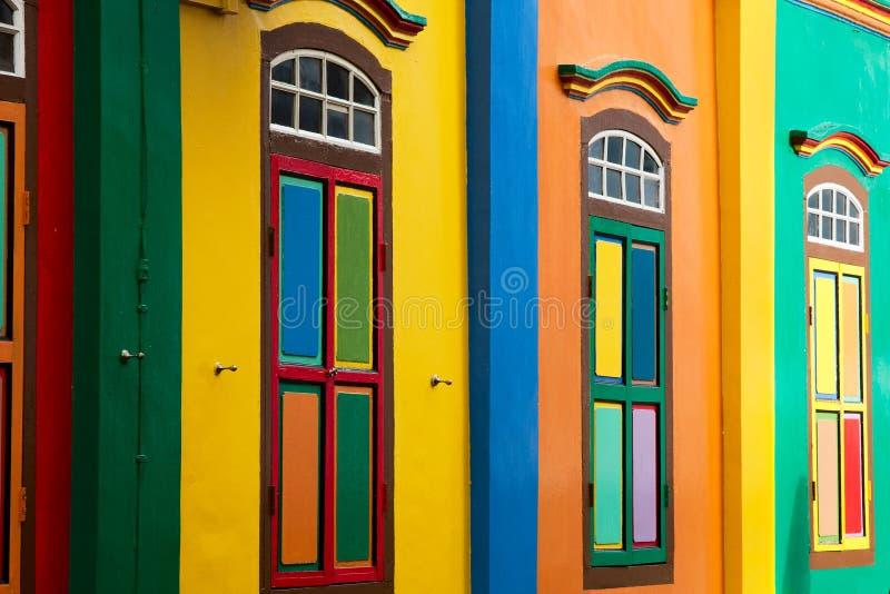 Volets de couleur images libres de droits