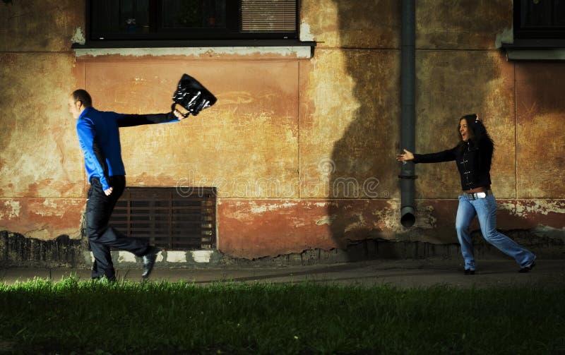 Voleur. photographie stock libre de droits