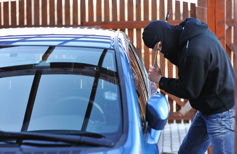 Voleur de véhicule photos stock
