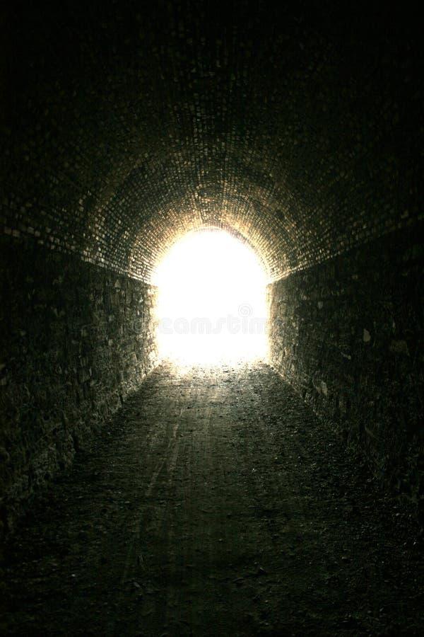 Volg het licht stock foto's