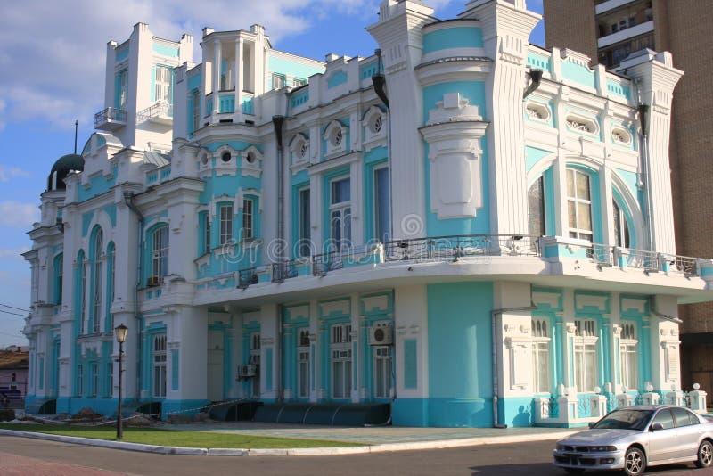 Volga Embankmenet royalty-vrije stock foto's