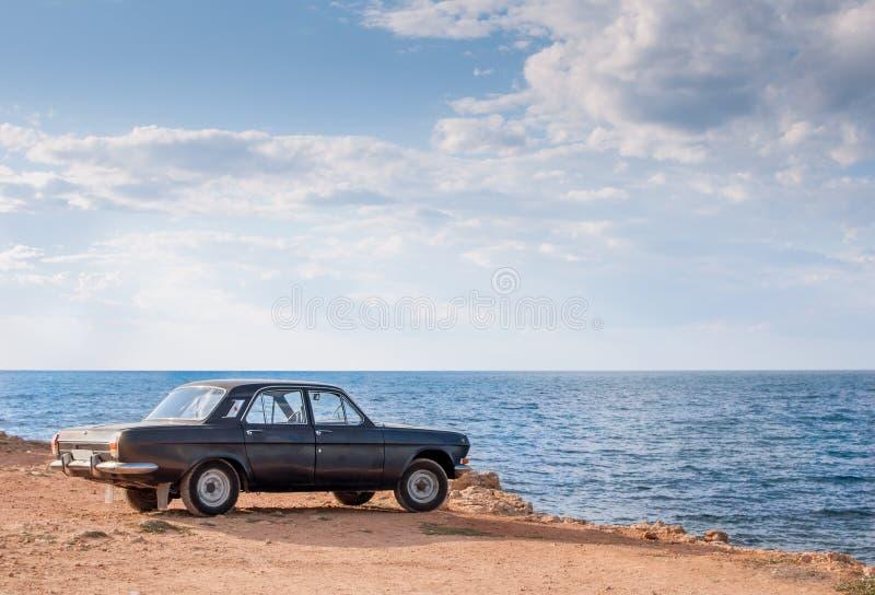 Volga gaz-24 stock afbeeldingen