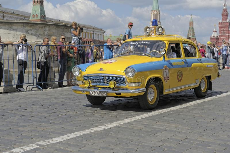 Volga GAZ-21 stock photo
