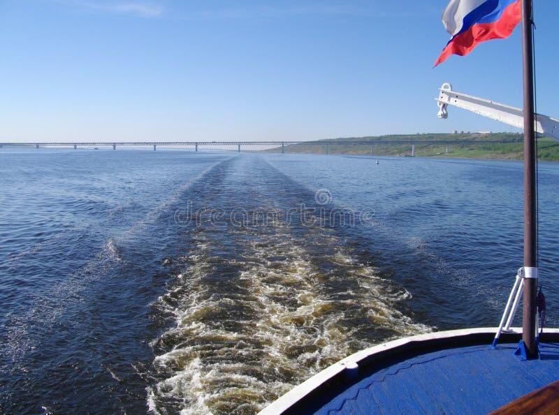 Volgaet River arkivbilder