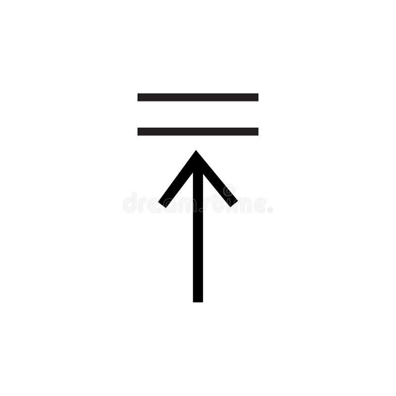 Volgende pictogram vectordieteken en symbool op witte achtergrond, Volgende embleemconcept wordt geïsoleerd stock illustratie