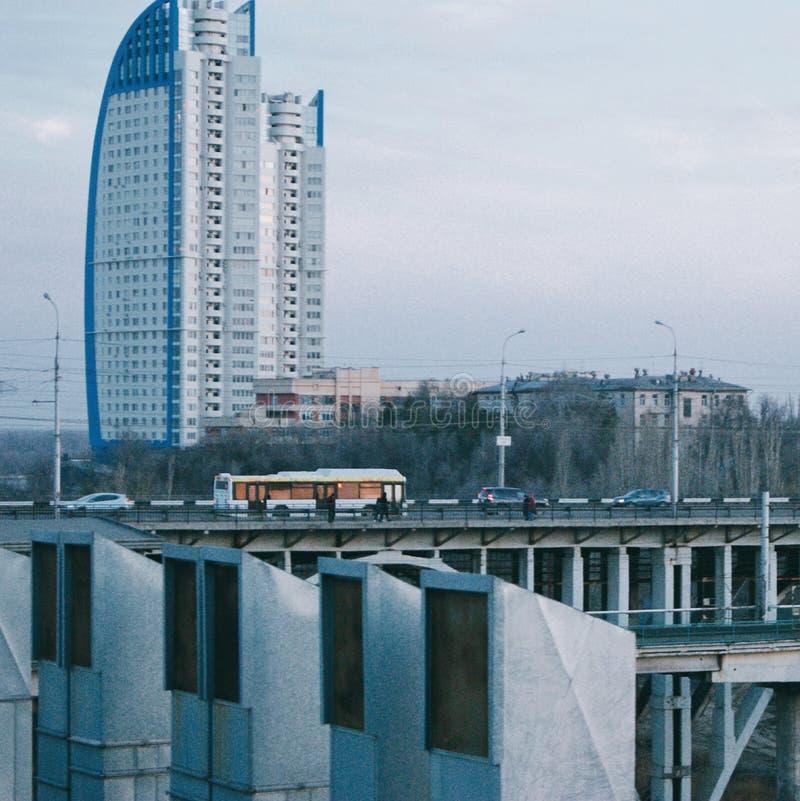 Volgograd parus arkivbild