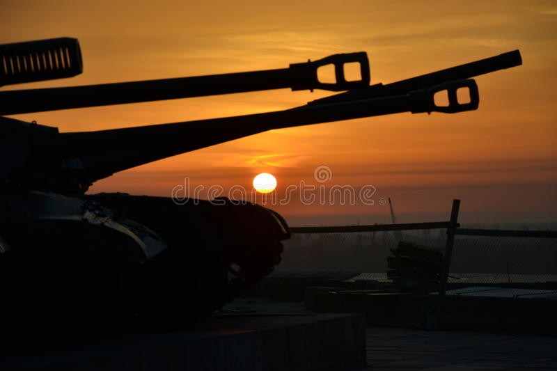 Volgograd tanks royalty free stock image